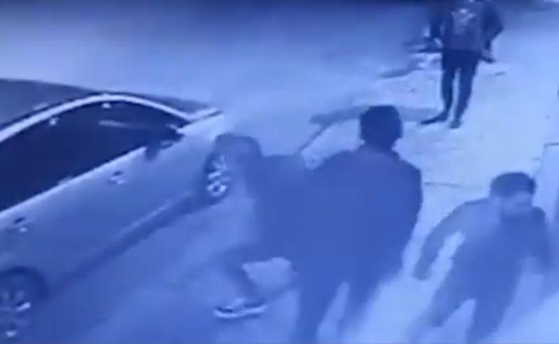 """პოლიციამ გორში """"ერთიანი ნაციონალური მოძრაობის"""" ოფისის დაზიანების ფაქტზე მეოთხე პირი დააკავა"""