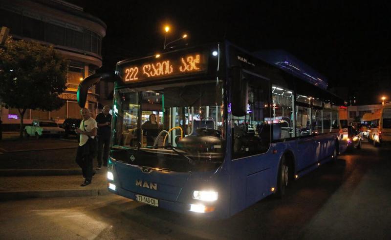 28 მარტს საზოგადოებრივი ტრანსპორტი ღამის პირველ საათამდე იმუშავებს