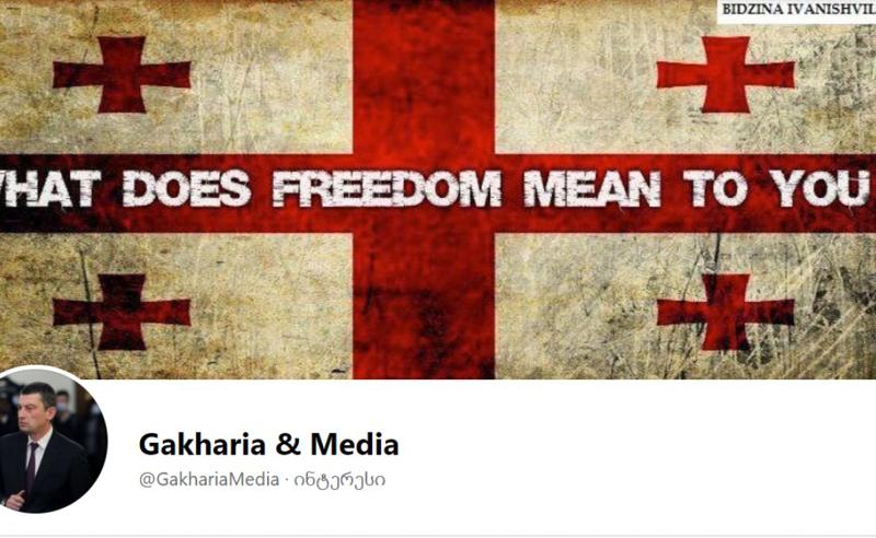 შექმნა და მერე პოლიტიკური სიმპათიის გათვალისწინებით გადააკეთა - ვინ მართავს გვერდს Gakharia & Media -ს - გაბრიელ წულაიას განმარტება