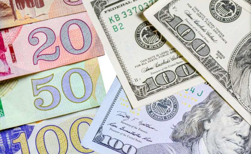 ლარი გაუფასურებას განაგრძობს, 1 დოლარი 3,3343 თეთრი გახდა