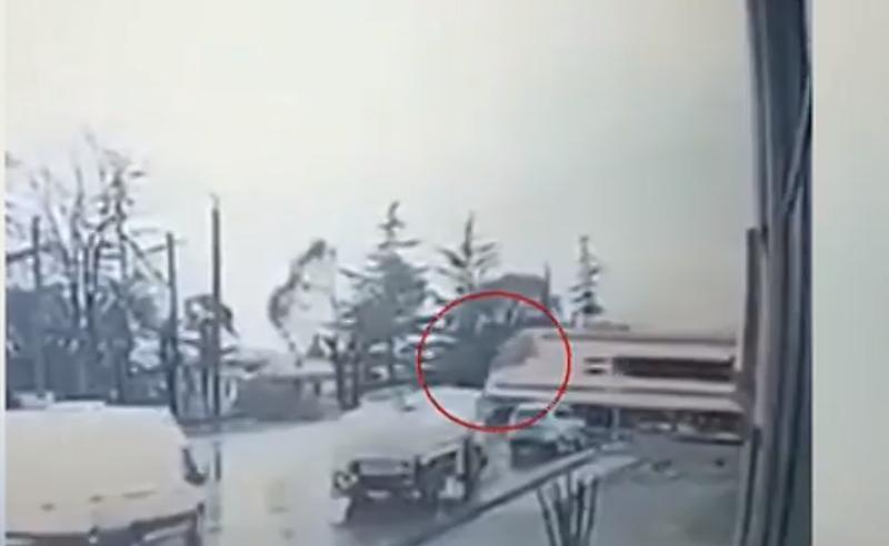 სათვალთვალო კამერით გადაღებული კადრები - რა მოხდა ზუგდიდში