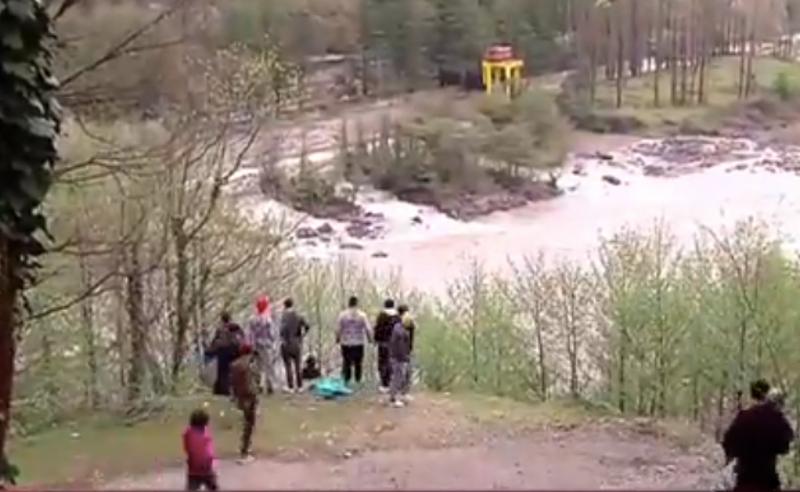 ინციდენტი რიონის ხეობაში - 17 წლის ბიჭი მდინარეში  გადავარდა