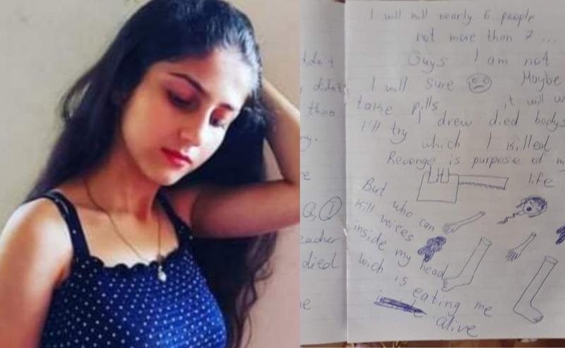 """""""შევეცდები, მკვდარი სხეულები დავხატო, რომლებიც დღეს მოვკალი"""" - გაუჩინარებული გოგონას წერილი"""