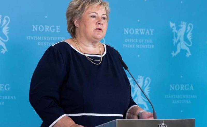 ნორვეგიის პრემიერ-მინისტრი 2 ათასი ევროთი დააჯარიმეს