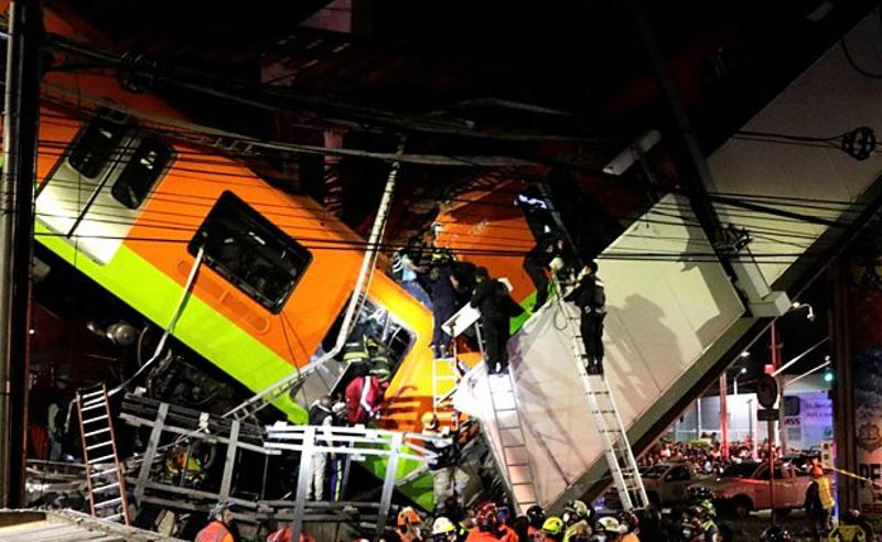 ნგრევა მექსიკის მეტროში - დაღუპულია 20-ზე მეტი ადამიანი