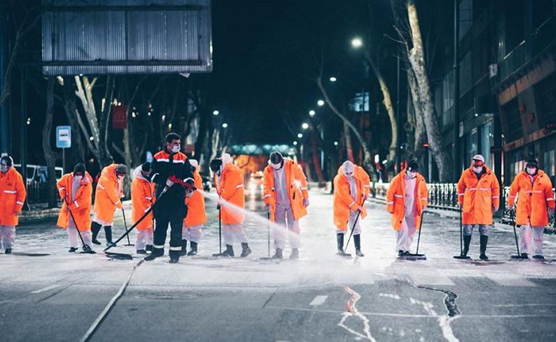 თბილისის მერია 6 მაისიდან ცენტრალური ქუჩების მორეცხვას იწყებს