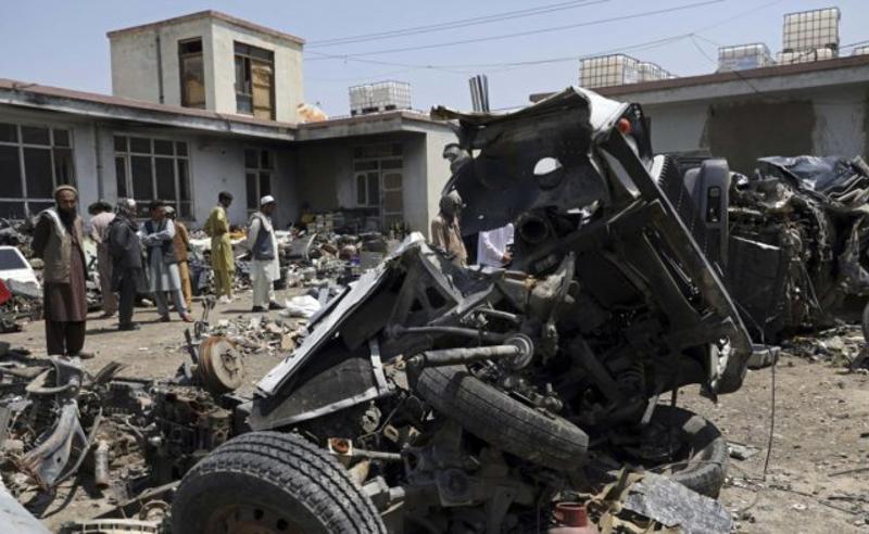 ავღანეთში ავტობუსის აფეთქების შედეგად 11 ადამიანი დაიღუპა