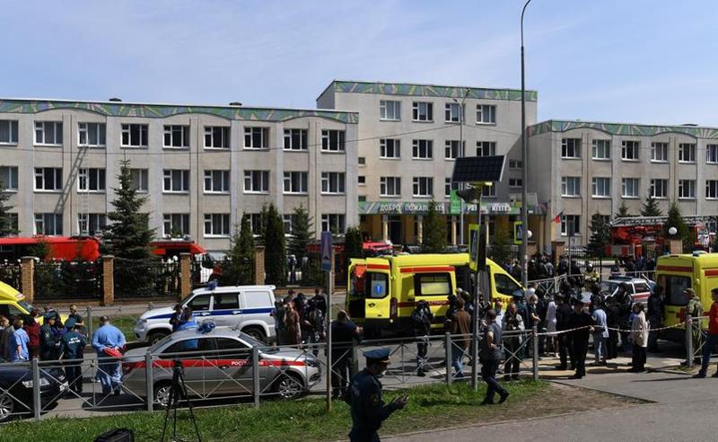 ტრაგედია ყაზანში -  გიმნაზიაში სროლის შედეგად 20 ადამიანი დაიღუპა