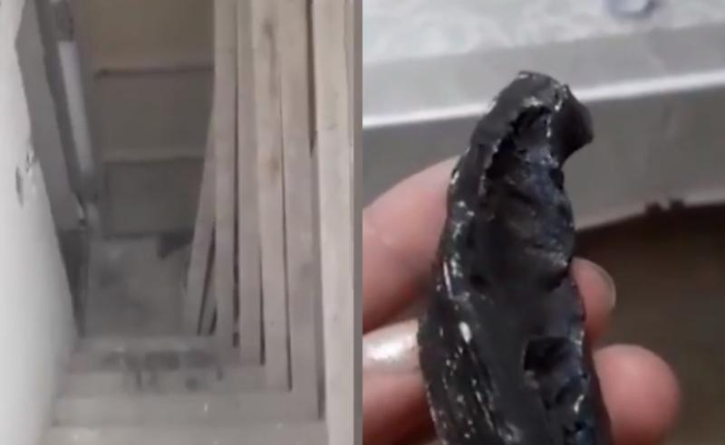 როგორ აფარებენ ქართველები თავს სარდაფებს საჰაერო იერიშების დროს - კადრები ისრაელიდან (ვიდეო)