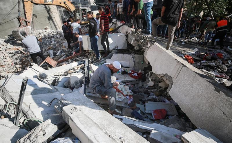 ისრაელის ავიაიერიშები -  ღაზის სექტორში  დაღუპულთა რიცხვი 188-მდე გაიზარდა