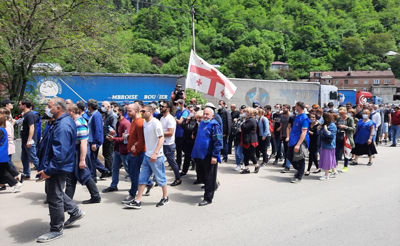 სოციალური აფეთქება ქვეყანაში - საქართველოს რეგიონები მასშტაბურმა აქციებმა მოიცვა