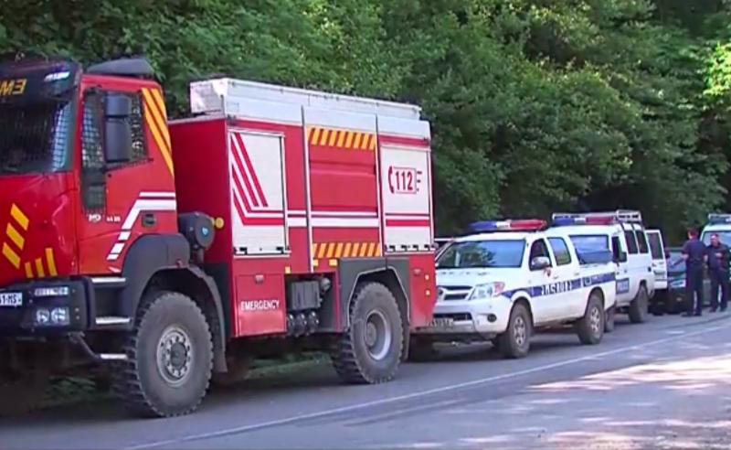 """რიონის  ხეობის მცველები """"ენკას"""" თანამშრომლებს  ტერიტორიაზე არ უშვებენ -ადგილზე პოლიციაა მობილიზებული"""