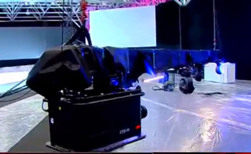 გახარიას პარტიის ყრილობის სამზადისის ექსკლუზიური კადრები (ვიდეო)