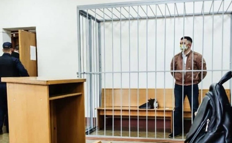 მინსკში პოლიტპატიმარმა ყელში კალამი ჩაირჭო
