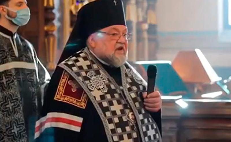 ბელორუსში ოპოზიციის მხარდაჭერისთვის  არქიეპისკოპოსი თანამდებობიდან გაათავისუფლეს