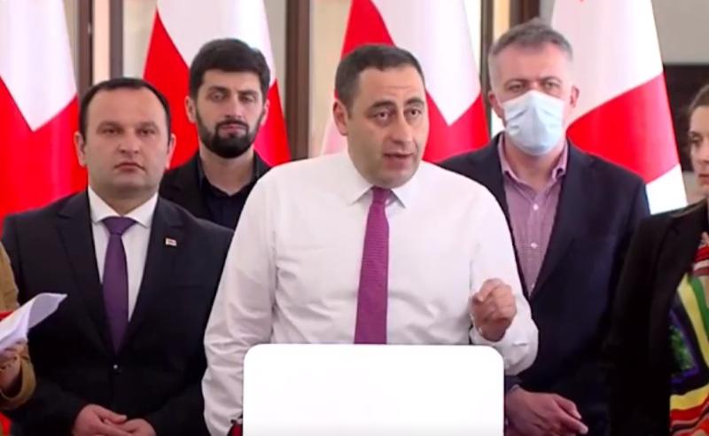 """შემიძლია, ძმრად ვადინო ყველა დარღვევა """"ქართულ ოცნებას""""  - გიორგი ვაშაძე"""