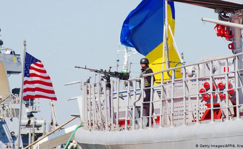 შავ ზღვაში NАТО -ს სამხედრო სწავლება დაიწყო