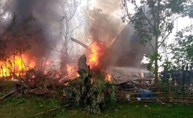 ავიაკატასტროფა ფილიპინებში - დაღუპულია სულ მცირე 45 ადამიანი