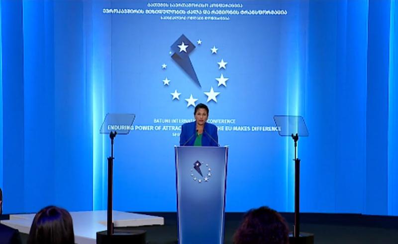 საქართველოს ევროპული მომავალი არის გარდაუვალი და განუყოფელი- სალომე ზურაბიშვილი