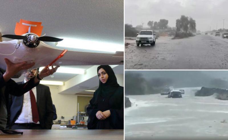 დუბაიში სიცხეს ხელოვნურად გამოწვეული წვიმებით ებრძვიან