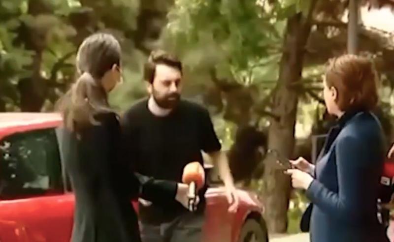 ინციდენტი ინტერვიუს  დროს - ხატია დეკანოიძისთვის პირი მანქანის დაჯახებას ცდილობდა (ვიდეო)