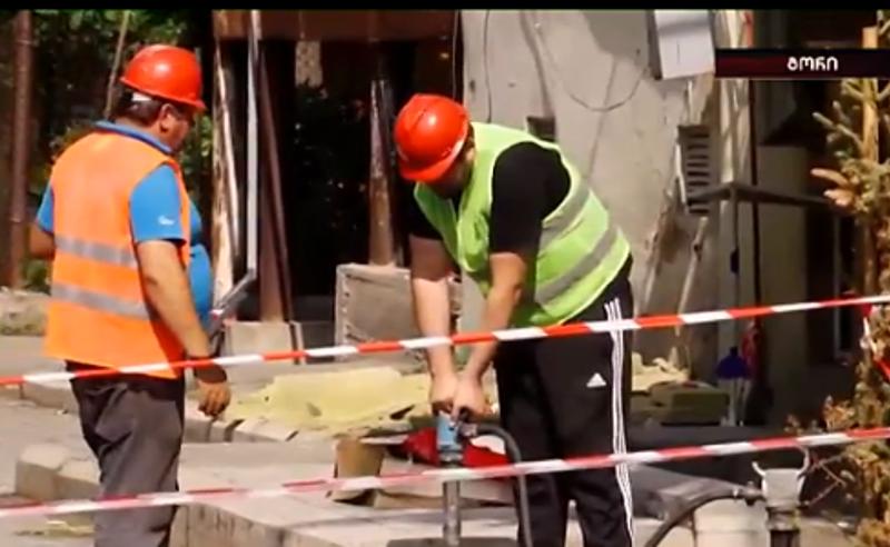 შენობების ფასადის რეაბილიტაცია გორში - ხელისუფლება წინასაარჩევნოდ ემზადება