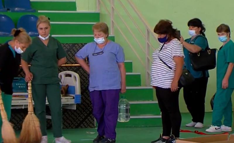 პირველი საველე ჰოსპიტალი თბილისში - მოახერხებს თუ არა სისტემა ექიმების მობილიზებას