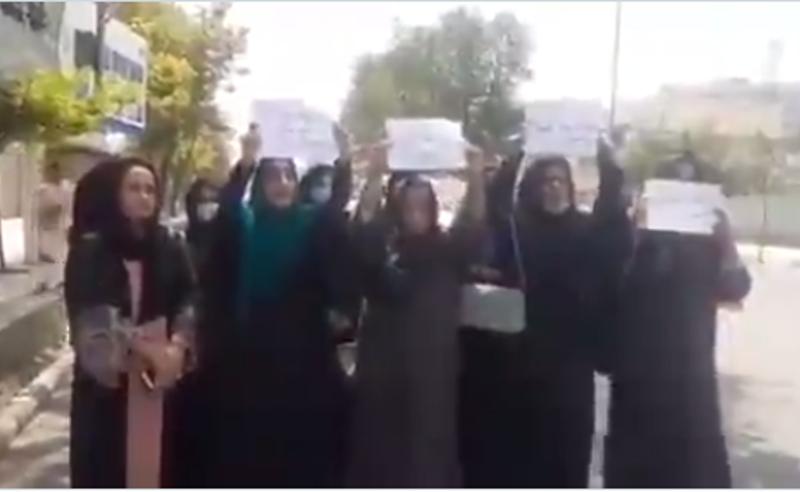 ქაბულში ქალებმა საკუთარი უფლებებისთვის აქცია გამართეს