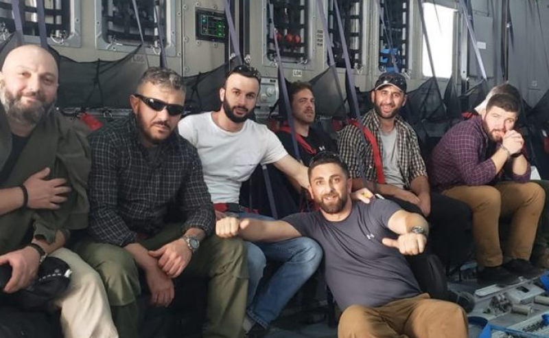 თექვსმეტმა ქართველმა ყოფილმა სამხედრომ ავღანეთი დატოვა - პირველი ფოტოები ადგილიდან