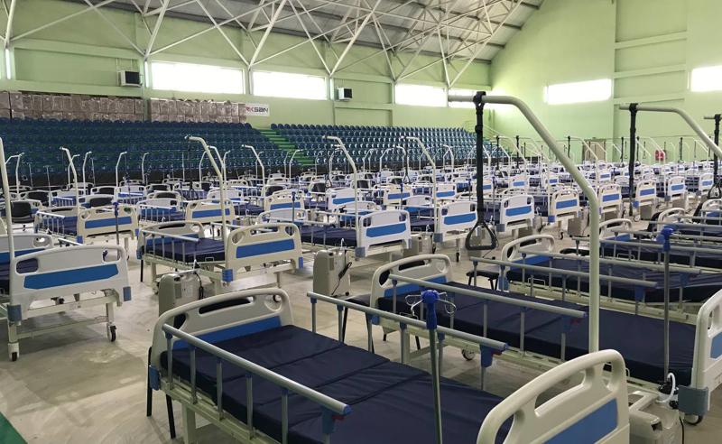 დიღმის საველე ჰოსპიტალში მოთავსებული პაციენტების მდგომარეობა საშუალო სიმძიმისაა