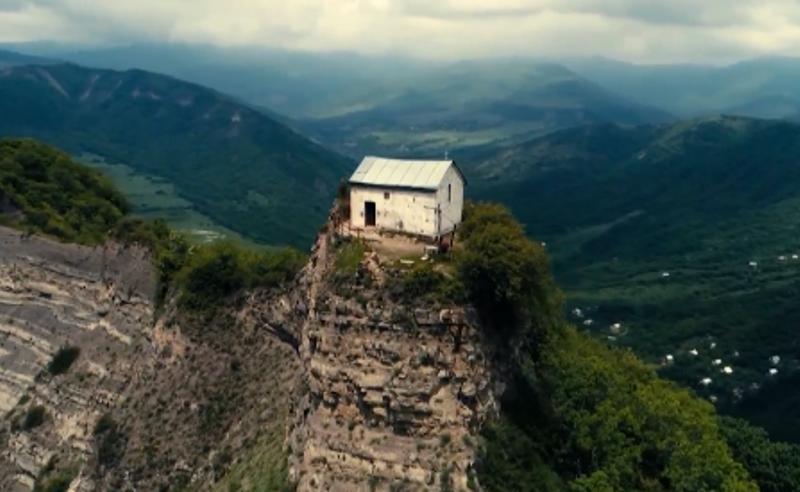 უკანონო და კუსტარული რემონტი - წვერის წმინდა გიორგის ეკლესია ცემენტით გალესეს