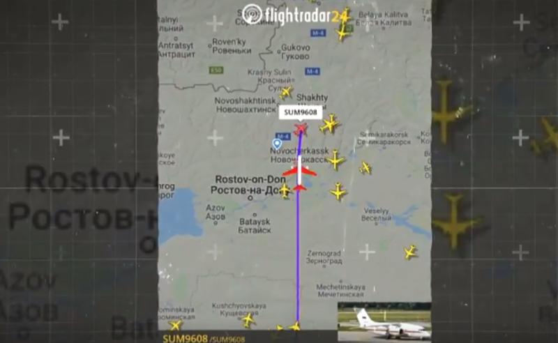 საიდუმლო რეისი - რუსული თვითმფრინავი ბათუმის აეროპორტში დაჯდა