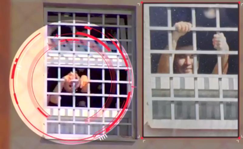 სანქციები ციხის ფანჯრიდან მისალმების გამო - გენინსპექციამ საკითხის მოკვლევა დაიწყო